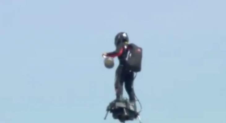 الرجل الطائر يظهر مجددًا في الفورمولا 1