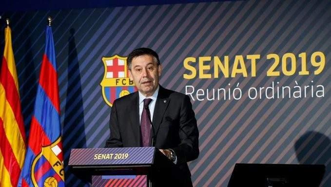 مجلس ادارة برشلونة يتجه لفرض الاستقالة على بارتوميو