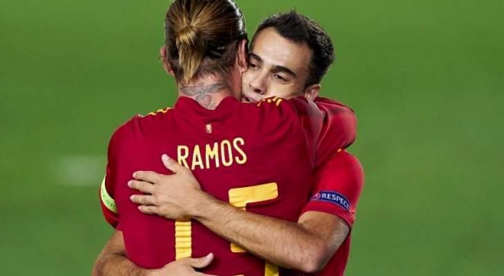 ارقام مميزة من مباراة اسبانيا - اوكرانيا