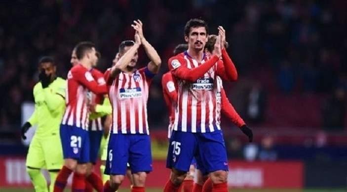أتلتيكو مدريد يفتقد جهود مدافعه بسبب الإصابة