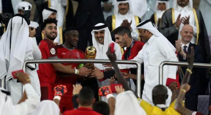 الدحيل يكتسح السد ويحتفظ بلقب كأس امير قطر