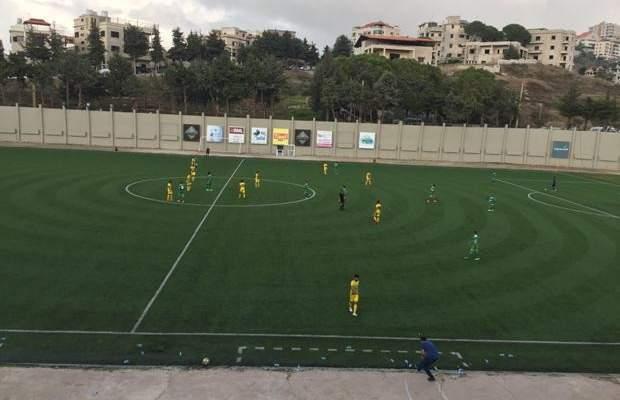 مشاهدات من مباراة الانصار والعهد في كأس النخبة