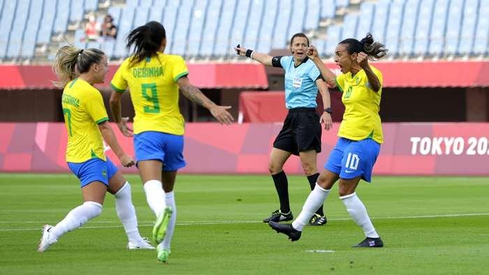 البرازيلية مارتا تحقق رقما قياسيا في الاولمبياد