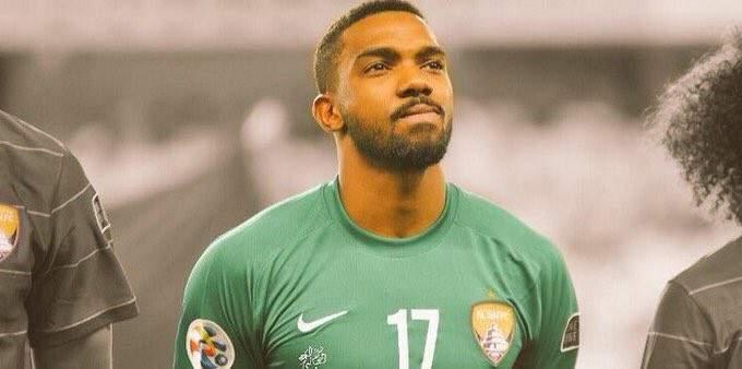 حارس مرمى العين : الفوز وبنتيجة كبيرة على بطل افريقيا شيء مميز جدا