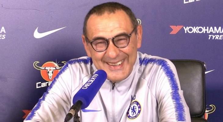 ساري: من دواعي سروري أن ألعب في الدوري الأوروبي