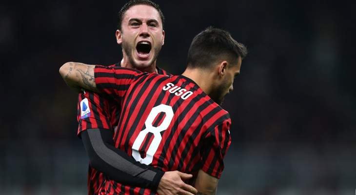 الدوري الإيطالي: ميلان يحقق فوزا صعبا على سبال