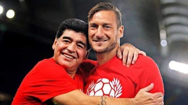 توتي: مارادونا كان أول من إتصل بي بعد إعتزالي كرة القدم