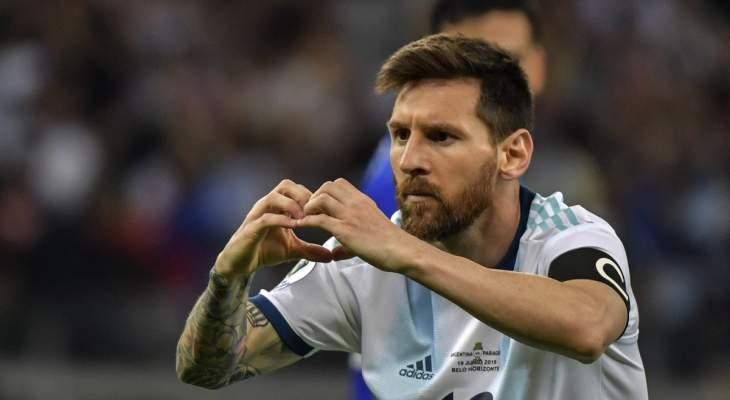 حساب المنتخب الأرجنتيني يعايد ميسي