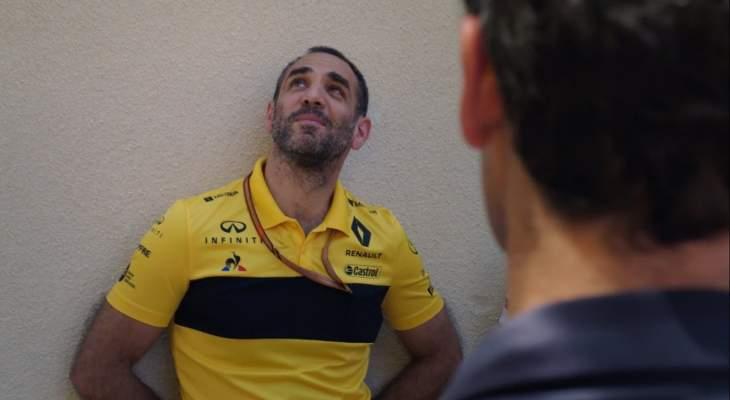 مدير رينو يعبّر عن إنزعاجه