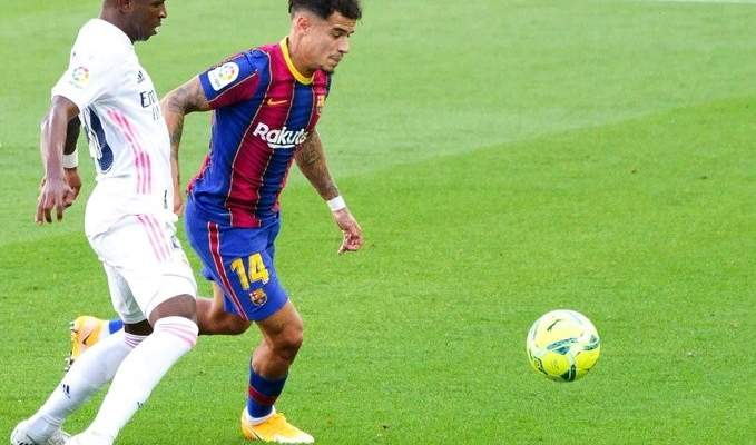 كوتينيو خارج خدمة برشلونة للاصابة