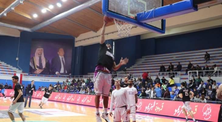 خاص: بيروت الأكثر تسجيلا في المرحلة السادسة عشر من الدوري اللبناني لكرة السلة 