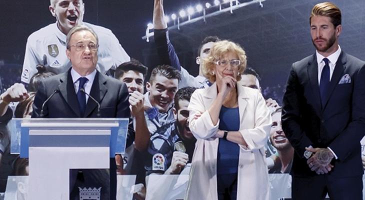 بيريز: لن اسمح لراموس بالرحيل مجانا ورونالدو افضل لاعب استقدمته الى مدريد
