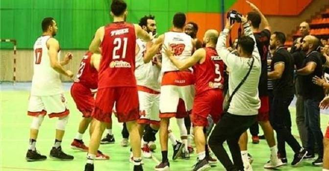 الزمالك يعلن الانسحاب من دوري السلة