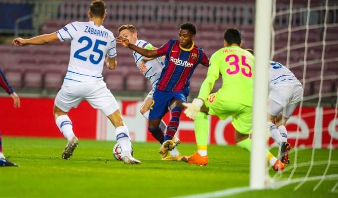 برشلونة يحقق فوزه الثالث وموراتا يقود يوفنتوس للفوز وثلاثية لدورتموند