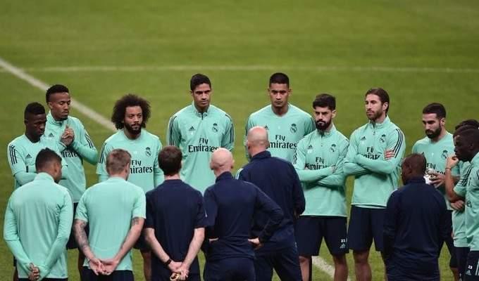 تغييرات جذرية في تشكيلة ريال مدريد امام غلطة سراي التركي