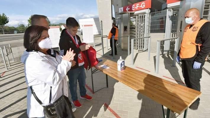 نهائي كأس المجر يستقطب أعداد هائلة من المشجعين في زمن كورونا
