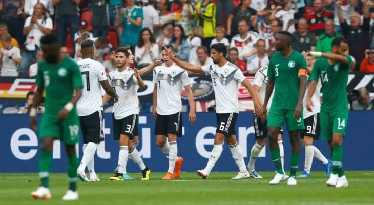 ودياً - فوز خجول لمنتخب ألمانيا على نظيره السعودي