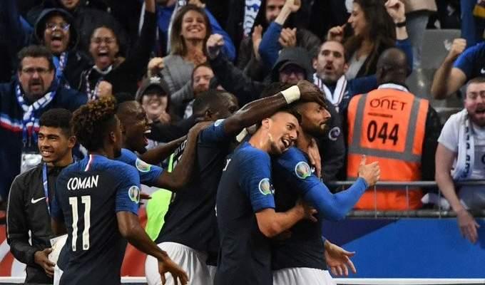 التشكيلة الرسمية لـ فرنسا امام مولدوفا