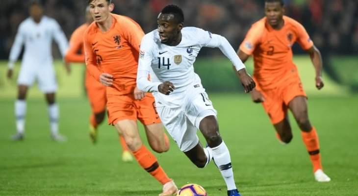 احصاءات مباراة منتخب هولندا امام فرنسا