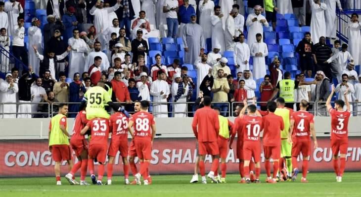 شباب الاهلي دبي إلى نهائي كأس الامارات