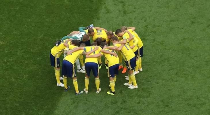 السويد تتخطى عقبة سويسرا لتحجز مكانها في الدور ربع النهائي