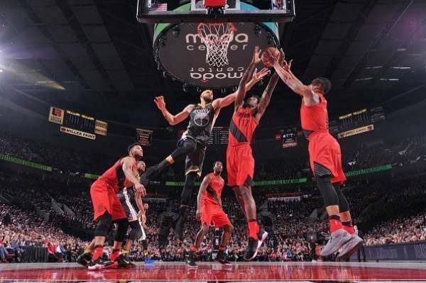 NBA:  غولدن ستايت يهدي الصدارة الى هيوستن روكتس بعد سقوطه امام بورتلاند