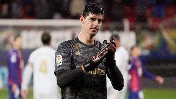 كورتوا: كنت واثقا من استعادة بريقي مع ريال مدريد