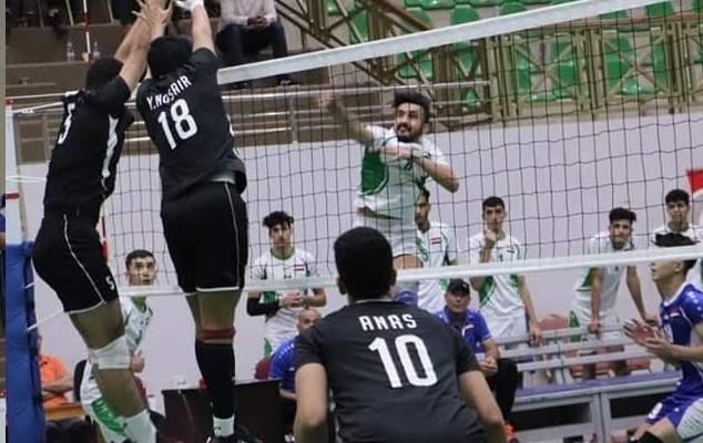البحرين تواجه مصر في نهائي البطولة العربية للكرة الطائرة للناشئين