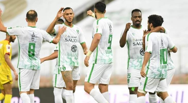 نتائج مثيرة في اولى مباريات الدوري السعودي بعد استئنافه