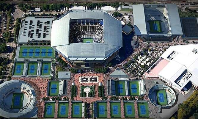 بطولة اميركا المفتوحة وسينسيناتي في نفس الملعب