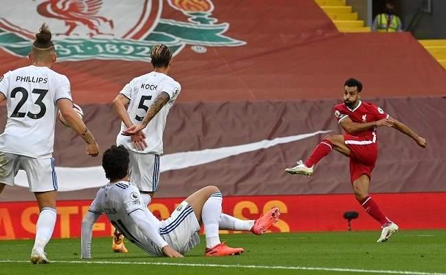 هاتريك صلاح يقود ليفربول إلى فوز مثير على ليدز