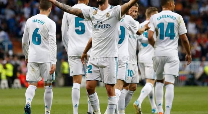 ريال مدريد ينهي موسمه في البرنابيو بسداسية نظيفة في شباك السيلتا
