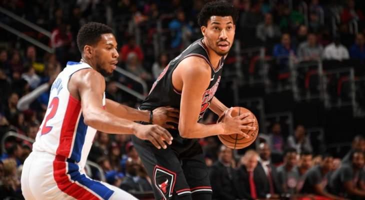 NBA : ديترويت يفوز على بولز و28 نقطة لبلايك غريفين
