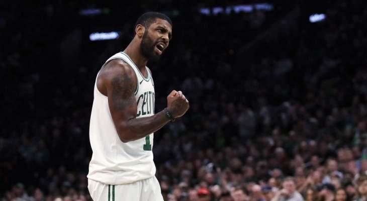 NBA: نقاط ايرفينغ وانطوني ديفيس ال 43 تقود فريقيهما الى الفوز