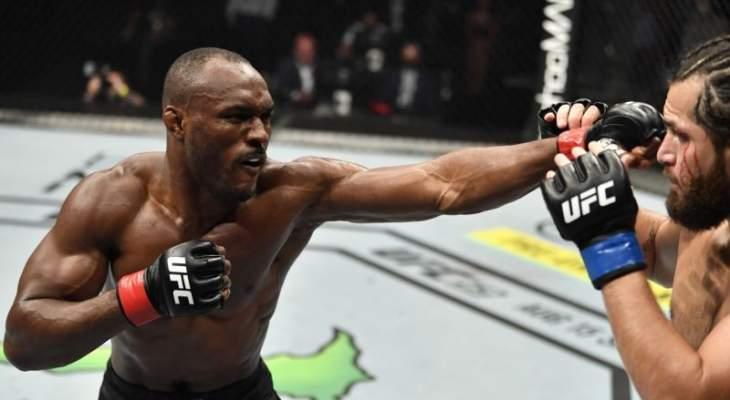UFC 251: فوز كامارو عثمان على خورخي ماسفيدال، وباقي النتائج