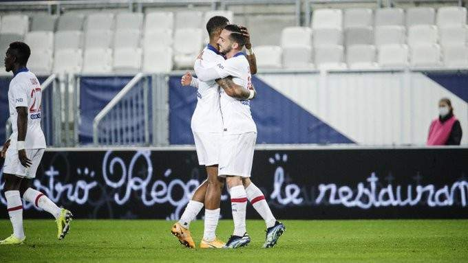 الليغ 1: الـ بي أس جي ينتصر امام بوردو وليل يخطف الفوز في الدقائق الاخيرة امام مارسيليا