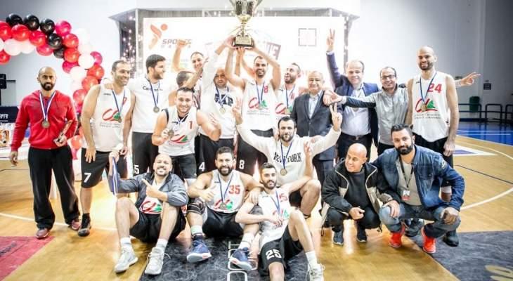 """الاعتماد اللبناني بطل الـ"""" بانكو""""  في كرة السّلة للشركات والمصارف"""