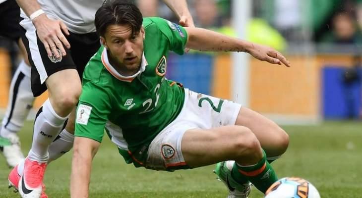 آرتر خارج تشكيلة المنتخب الايرلندي