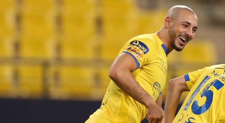 امرابط يدخل قائمة أسرع الأهداف في تاريخ الدوري السعودي