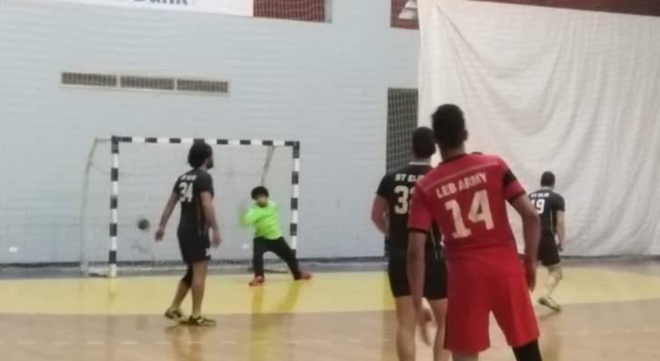 انتصارات للجيش والصداقة وحارة صيدا في الدوري اللبناني لكرة اليد