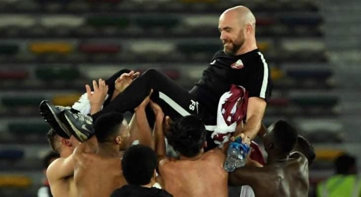 مدرب قطر : ميسي لاعب فريد من نوعه