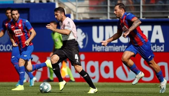 اسبانيول يتألق خارج الديار ويخطف الفوز من ايبار