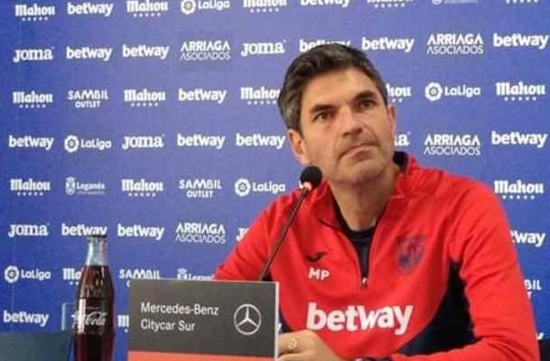 مدرب ليغانيس : الفريق يستحق نتيجة افضل من التعادل امام الريال