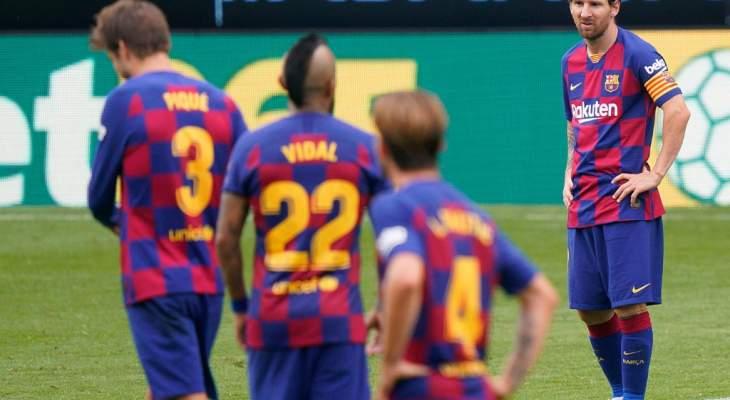 بطولة إسبانيا: اختبار مصيري لبرشلونة لوقف نزيف النقاط