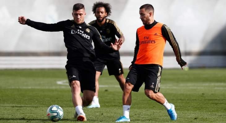 ريال مدريد يستعيد 5 لاعبين في تدريباته إستعداداً لمايوركا