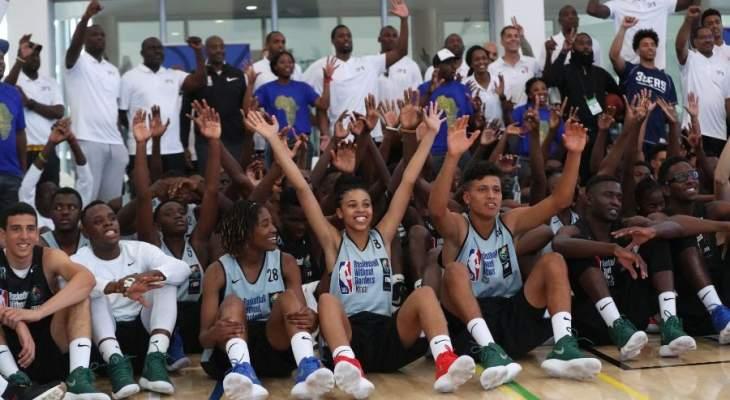 السنغال تستقبل معسكر كرة السلة بدون حواجز بالتعاون مع FIBA و NBA