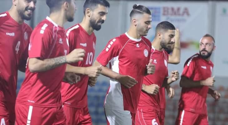 ما هي التشكيلة المتوقعة للبنان أمام تركمنستان؟