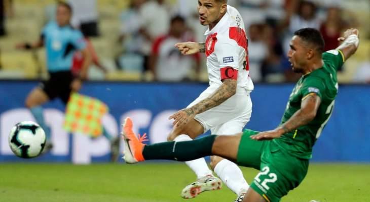 من هو افضل لاعب في مباراتي بيرو وبوليفيا فنزويلا والبرازيل؟
