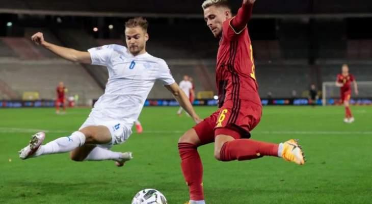 اهداف مباراة ايسلندا وبلجيكا في دوري امم اوروبا