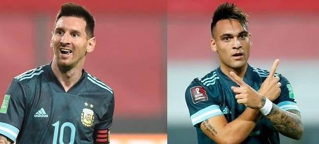 ماذا قال ميسي ومارتينيز بعد الفوز على البيرو